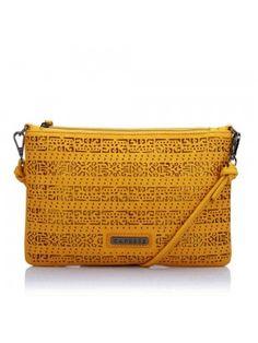 ELLI SLING MEDIUM OCHRE YELLOW Buy Handbags Online, Caprese Bag, Carry On,  Medium a4f778634e