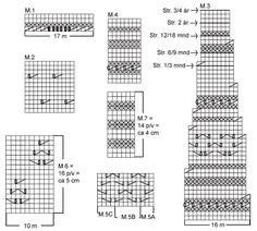Jacke mit Rundabketten, Hose, Haube, Socken, (Decke 13-22, Ball und Rassel 13-8) ~ DROPS Design