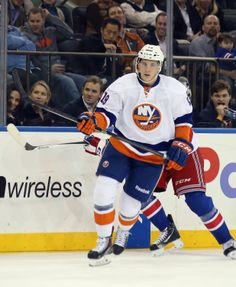 Ryan Strome had his first NHL point 12.20.13 against the New York Rangers. An assist on Brain Strait's goal.