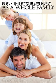 Great money-saving tips for the whole family to do together! What a great idea!