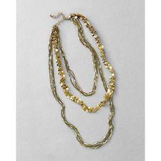 Gold Paillette Necklace