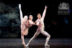 Birmingham Royal Ballet - The Nutcracker: Ambra Vallo as the Sugar Plum Fairy and Dominic Antonucci as the Prince; Bill Cooper, Sugar Plum Fairy, Dance Tights, Dance Ballet, Royal Ballet, Dance Pictures, Trance, Wearing Black, Birmingham