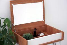 化粧台ドレッサー鏡台シンプル収納家具コスメ台木製ナチュラル