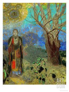 The Buddha, Odilon Redon 1906-1907