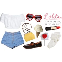 """""""Lolita"""" by junk-food on Polyvore"""