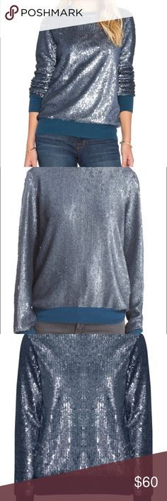 EQUIPMENT FEMME sequined sweater, great condition Super cute and great quality sequined sweater. Equipment Sweaters