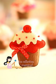 Cupcakes ♡ by Ei menina! - Érica Catarina, via Flickr