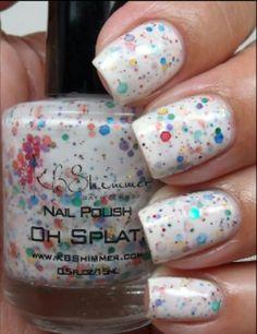 Oh splat nail