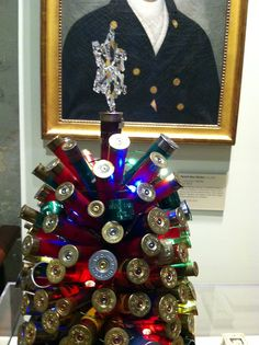 shotgun shells and tags tree, ACK's Whaling Museum...