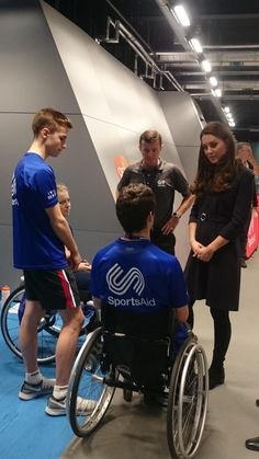 Kate at SportsAid, West London. 11.12.14