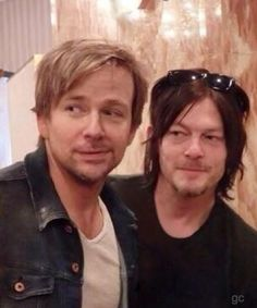 Sean Patrick Flanery and Norman Reedus #gc Flandus MacManus Brothers BDS so cute!