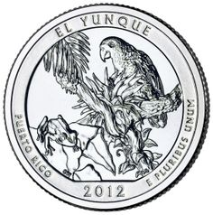 America the Beautiful coin of Puerto Rico