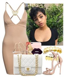 """Unbothered Asf ✨"" by saucinonyou999 ❤ liked on Polyvore featuring Rolex, Lime Crime, Chanel, Dsquared2 and Bling Jewelry"