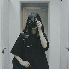 Grunge Fashion, Girl Fashion, Anime Wolf Girl, Korean Short Hair, Girls Diary, Ulzzang Korean Girl, Uzzlang Girl, Girl Short Hair, Ulzzang Fashion