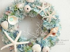 Little Mermaid Wreath 8~人魚姫の花冠~ 25cm