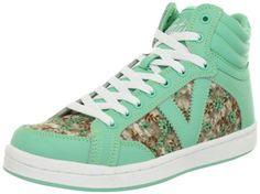 Volatile Kicks Women's Slammin Fashion Sneaker,Mint,9 B US Volatile,http://www.amazon.com/dp/B00BOLVUVC/ref=cm_sw_r_pi_dp_u01tsb0SRSSGW6NN