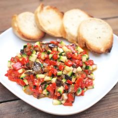 Tatarák z pečené zeleniny