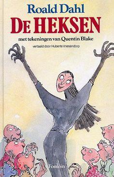 Roald Dahl - De Heksen Werd ook gebruikt als thema tijdens een schoolreisje :)