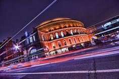 Royal Albert Hall by night