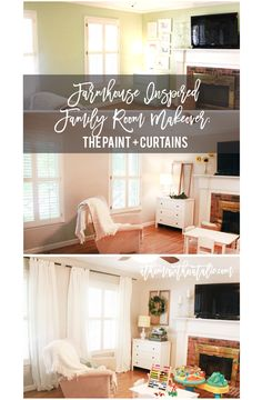 We've been working on a little family room makeover! I thought people could relate to this project because we aren't able to totally makeover the whole room all at o…