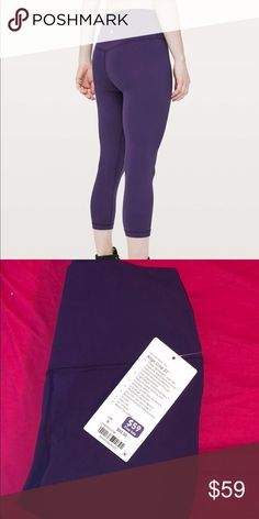 9db6b68874 Lululemon power line pants 28 NWT My Posh Picks t