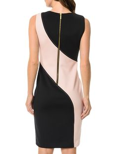 Nice Dresses, Casual Dresses, Fashion Dresses, Dresses For Work, Vestido Calvin Klein, Top Pattern, Couture, Ideias Fashion, Eminem