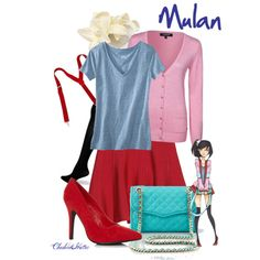 """""""Mulan"""" by cheshirehatter on Polyvore"""