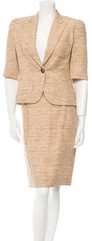 Oscar de la Renta Skirt Suit Suits For Women, Blazer, Stylish, Jackets, Tops, Fashion, Oscar De La Renta, Down Jackets, Moda