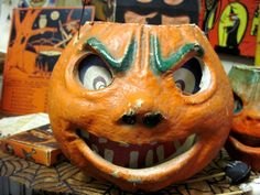 Tracy's Toys (and Some Other Stuff): Vintage Halloween Jack o' Lantern