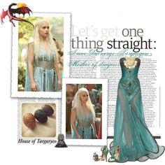 """Daenerys Targaryen <3"" by brujitaluna on Polyvore"