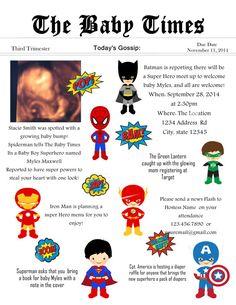 Super hero Baby shower Invitation by LoveStoryDesignsbyNJ on Etsy
