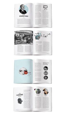 Beautiful magazine style and layout.: