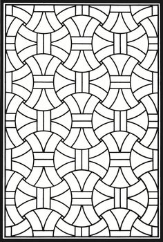 Creative Haven Geometric Genius Stained Glass Coloring Book Welcome to Dover Publications
