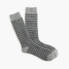 J.Crew Houndstooth socks $16.50