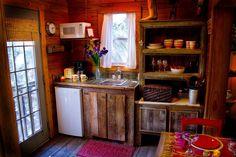 Tiny House.. Easy Rustic Cabinet Construction idea