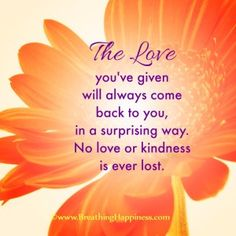 """""""How To Recover The Love You Think You've Lost?"""" an article by Liping Feng, Ph.D. #love #relationship #happiness #healing #spirituality #mindbodyhe love you've given to live a happy healthy life"""