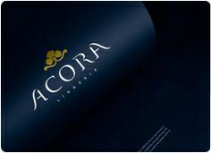 ACORA: Diseño de logo para empresa de lencería.