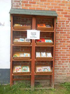 Boekenruilkast VIZIT Gent