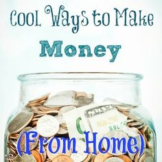 Cool ways to make money at home -- earn an income while watching your kids! http://thestir.cafemom.com/baby/176058/make_money_home_mom_ideas?utm_medium=sm&utm_source=pinterest&utm_content=thestir&newsletter Making Money, Making Money Ideas, Making Money Online