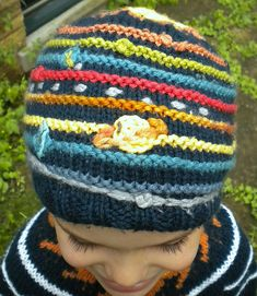 Out of this World! Solar System Hat - makes my inner astronomy geek giggle with glee!