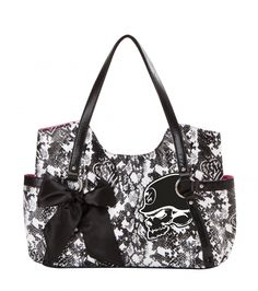 Metal Mulisha Maidens Tamless Purse. Snake skin print. Skull.