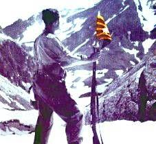 Guerra d'Espanya: 1936-39 Segurament un soldat del Regiment Pirinenc de la Generalitat.