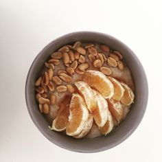Tip 4 for #perfect #oatmeal: Don't b afraid to #mix #tastes!Mostly it'll turn out #amazing.Enjoy and Eat with Spoon!