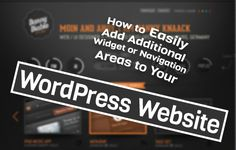 How to Easily Add Additional Widget or #Navigation Areas to Your #WordPress Website http://www.webdesign.org/how-to-easily-add-additional-widget-or-navigation-areas-to-your-wordpress-website.22285.html