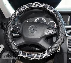 New Arrival Sexy Leapord Fashion High Quality Sterring Wheel Cover