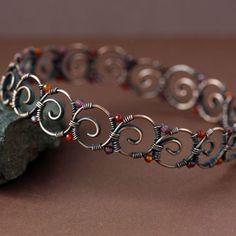Maiandros Bangle | JewelryLessons.com Gorgeous!! Tutorial $10