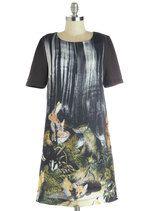 Critter-cal Thinking Dress | Mod Retro Vintage Dresses | ModCloth.com