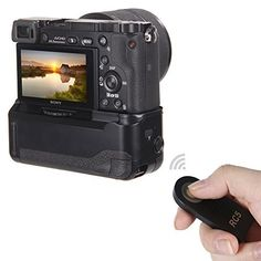 Neewer® Professional Vertical Battery Grip Replacement for Sony NP-FW50 Compatible with Sony A6000, http://www.amazon.co.uk/dp/B00RJTCAJ4/ref=cm_sw_r_pi_awdl_94Y1ub1921G03