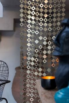 Rideaux platines LE LABO design