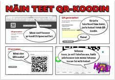 Näin käytät QR-koodeja lukemaan innostamisessa | Tuubi. Yhteisöllinen koulu Finnish Language, Class Activities, Early Childhood Education, Preschool, Coding, Classroom, Teacher, Learning, School Stuff